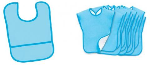 Discount School Supply Environments Pocket and Cover-Up Bibs