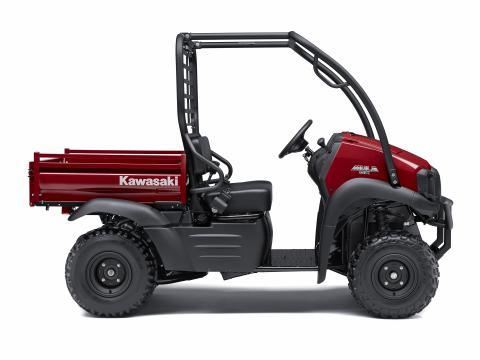 Kawasaki Recalls Utility Vehicles