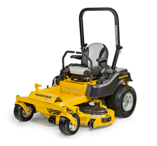 Recalled Hustler FasTrak series zero-turn mower