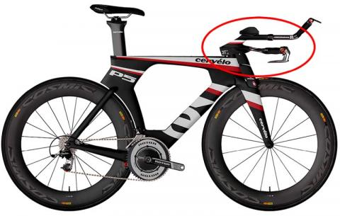 P5 bicycle with recalled Aduro aero handlebars.