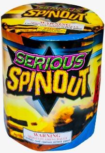 Serious Spinout recalled firework