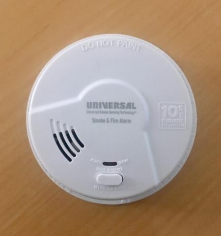 Smoke Alarm (front)