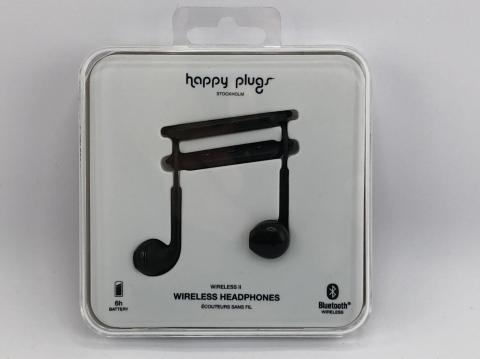 Recalled Happy Plugs wireless headphones
