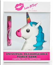 Unicorn Head power bank