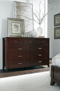 Recalled Brighton nine-drawer