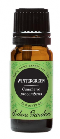 Recalled 100% Pure Essential Oil Wintergreen –10 mL bottle