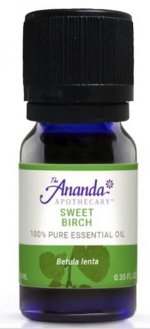 Recalled Sweet Birch Essential Oil (0.5 mL, 10 mL, 30 mL, 60 mL, 120 mL)