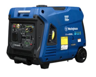 Recalled Westinghouse iGen4500DF Dual Fuel Portable Generator