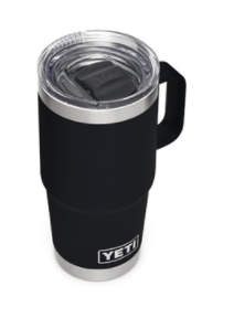 Top view of recalled Rambler 20 oz Travel Mug with Stronghold Lid›
