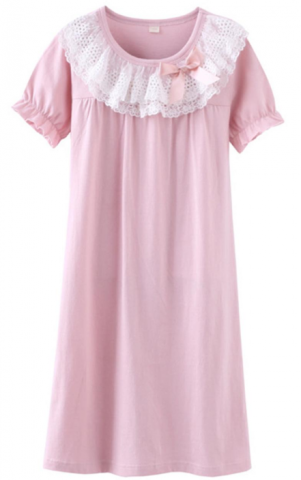 ASHERGAL children's nightgown in pink