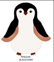 Cargador de baterías con forma de pingüino