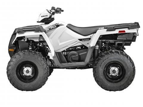 2014 Sportsman 570 in bright white