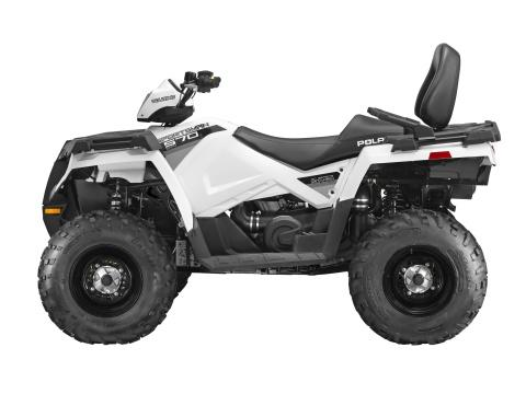 2014 Sportsman 570 touring in bright white