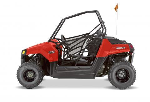 2015 RZR 170 in red