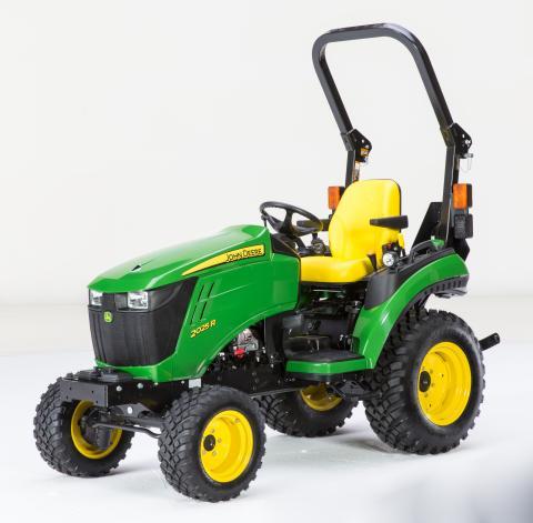 Recalled John Deere 2025R Compact Utility Tractor