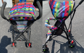 Recalled Island Wear strollers (multi-colored)