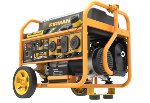 FIRMAN portable generator front left view