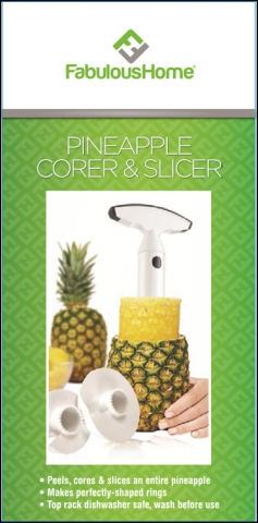 Fabulous Home Pineapple Corer & Slicer packaging
