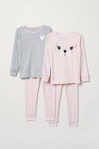 Recalled H&M children's pajamas