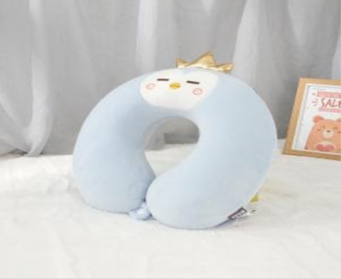 Recalled Ximi Vogue children's blue chick neck pillow