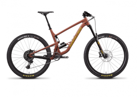Recalled Santa Cruz Bicycle:  Bronson 3a Aluminum - Red Tide