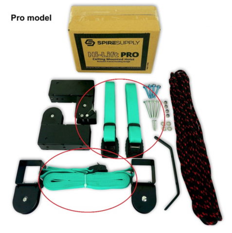 Recalled Hi-Lift Storage Hoist Pro Model (Unassembled)
