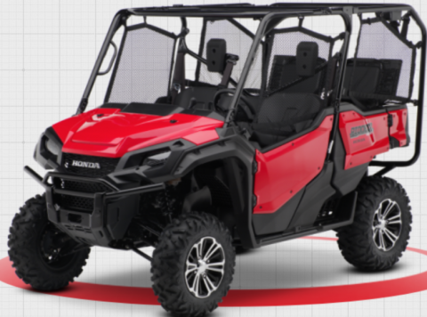 2016-2020 Model Year Honda Pioneer 1000 5 Passenger