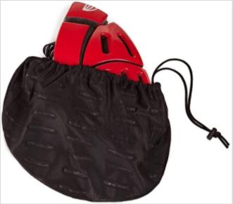 Recalled Morpher flat-folding bicycle helmet – in storage bag