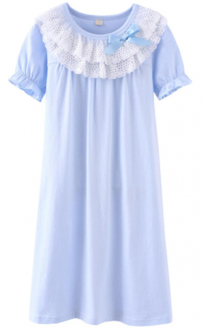 ASHERGAL children's nightgown in blue