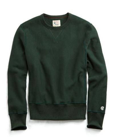 Recalled men's Todd Snyder + Champion sweatshirt in Park Green