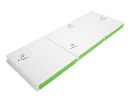 Recalled Cushy Form Tri-Fold Folding Mattress setup as a mattress.