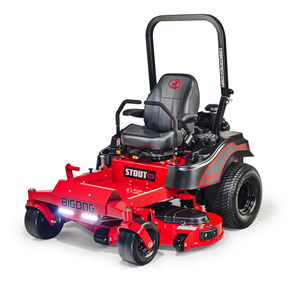 Recalled BigDog Stout MP series zero-turn mower