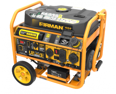 FIRMAN portable generator front top view