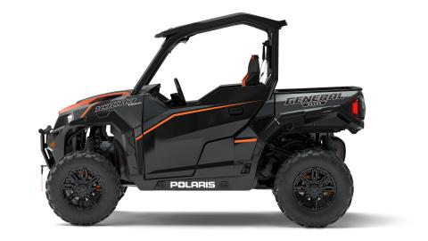 2017 POLARIS GENERAL 1000 EPS DELUXE TITANIUM MATTE METALLIC