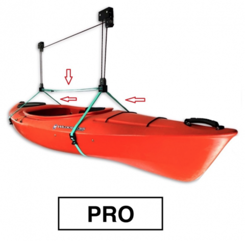 Recalled Hi-Lift Storage Hoist Classic Model (with Kayak)