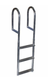 Recalled 3-Step Wide Step Dock Ladder