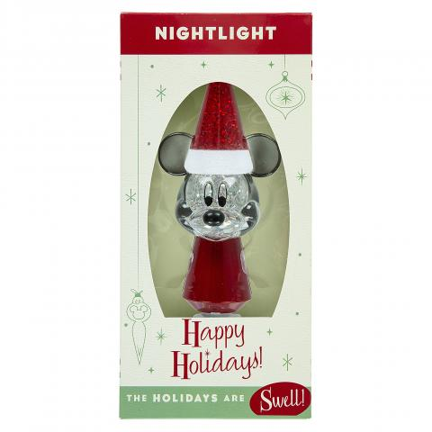 Recalled Happy Holidays! Mickey Mouse Nightlight in packaging