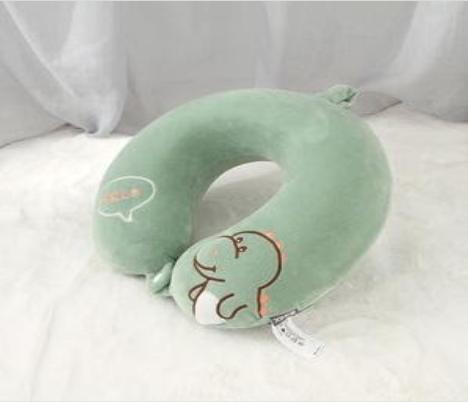 Recalled Ximi Vogue children's green dinosaur neck pillow