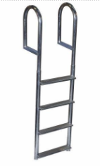 Recalled 4-Step Wide Step Dock Ladder