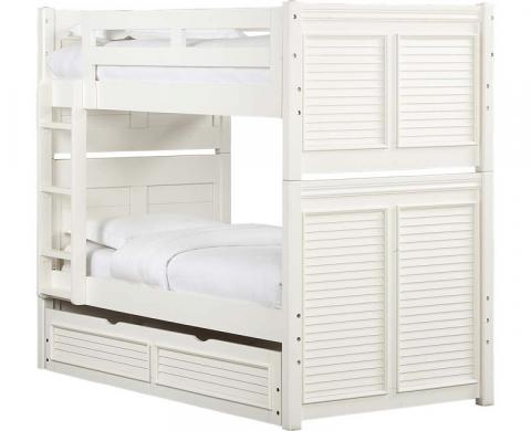 Recalled Cottage Retreat II twin over twin bunk bed