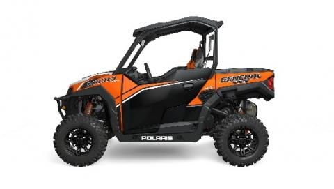 2016 Polaris General two-seat in orange