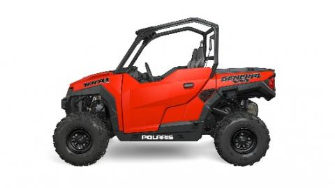 2016 Polaris General two-seat in red