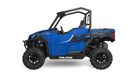 2016 Polaris General two-seat in blue