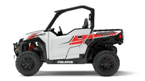 2017 Polaris General two-seat in white