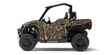 017 Polaris General two-seat in camouflage
