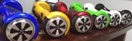 Recalled Sonic Smart Wheels hoverboards