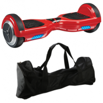 Recalled iLive hoverboard in red with carrying case