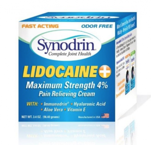Natural Solutions for Life Recalls Synodrin Pain Relieving Cream