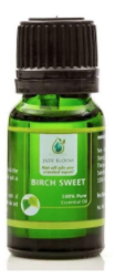 Recalled Jade Bloom Birch Sweet Essential Oil – 10 mL bottle