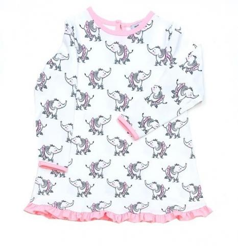 Recalled Just Blanks-branded nightgown – elephant print